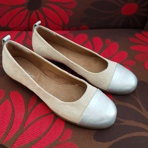 New women's fabric upper flat shoes